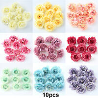 NEW Artificial Silk Fake Peony Flowers Floral Heads Wedding Bouquet Home Decor