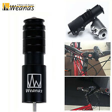Weanas 1-1/8in MTB Bike Handlebar Extender Stem Riser Aluminium Head Up Adapter