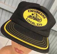 VTG International Union Operating Engineers Local Snapback Baseball Cap Hat USA