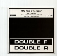 (IZ943) Riva, Time Is The Healer - 2002 DJ CD