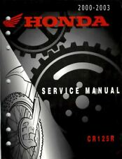 Manuale Officina Service Manual Honda CR 125 2000 2003 [ENG]