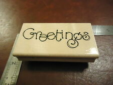 GREETINGS FUN COOL DESIGN AND LARGE RUBBER STAMP QUOTE SAYINGS PARTY SHOWER
