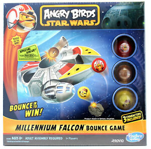 Angry Birds Star Wars  Millennium Falcon Bounce Game 1+ Players  New