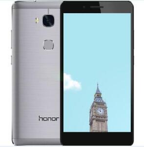 "5.5"" Huawei Honor 5x 4G LTE Dual SIM 2GB RAM 16GB ROM Android 13MP Smartphone"