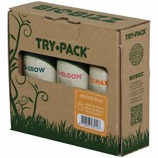 BIOBIZZ - Try·pack: decanted Indoor·Pack 250ml grow bloom and top max