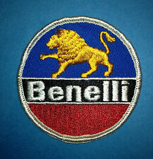 Vintage 1970's Benelli Motorcycles Biker Vest Jacket Hat Hoodie Patch Crest