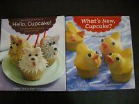 Cupcakes Baking Decorating Hello Whats New Tack Richardson Cookbooks Lot 2