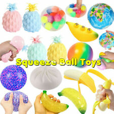 Squishy Fidget Toys Set Stress Relief DNA Stress Ball Sensory Squeeze Balls Mesh