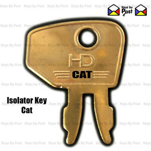 CAT / CATERPILLAR ISOLATOR KEY FOR DIGGER / EXCAVATOR - FREE and FAST POST