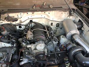 L98 v8 engine conversion for Nissan patrol
