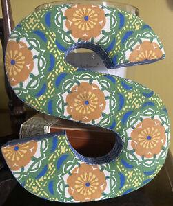 Anthropologie Decorative 3D Fabric Letter  S Floral