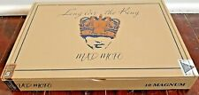 Mad Mofo Magnum Long Live the King Caldwell Empty Cigar Wooden Box 10 X 7 X 1.25