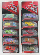 New Lot of 10 Disney * Pixar Cars 3 - Bobby Swift Sarge Luigi & Guido Lightning