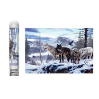Adults Kids Puzzles Educational Holiday Gift 150 Piece Large Puzzle -Wolf Pack