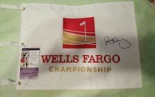 Rory McILROY signed full autograph Wells Fargo Championship pin flag PGA Tour