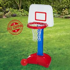 Kids Toy Basketball Hoop Toys Indoor Outdoor Adjustable Mini Sports Play Ball