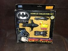 1992 Batman Returns Vehicle Collector Set NIB Diecast Batmobile + Duckmobile! A2