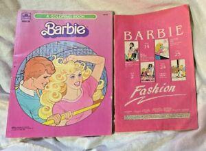 Dream Date Barbie Coloring Book Golden VINTAGE 1983 Mattel & Barbie Fashion