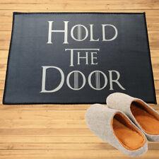Game Of Thrones Hold The Door Doormat Mats Anti-slip Rugs Floor Mats Carpet