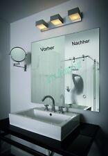Spiegelheizfolie / Spiegelfolie – Keine beschlagenen Spiegel 600 x 800 mm