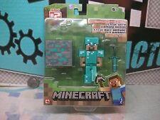 STEVE WITH DIAMOND ARMOR - Minecraft Series #2 - Arcade / Gamer Block - 06/17
