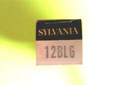 12BL6 SYLVANIA VINTAGE (TUBE), (NEW IN BOX / NEW OLD STOCK).