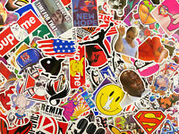 100/200/300 Random Skateboard Stickers bomb Laptop Luggage Decals Dope Sticker