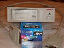 COMPAQ DDS-4 20/40GB DAT40 External DAT Tape Drive EO2007 159608-001 plus extras