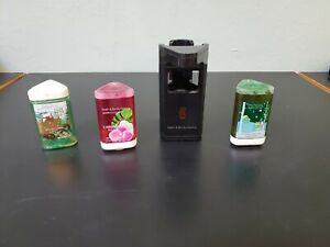 Bath & Body Works BLACK  Smart Soap Automatic Soap Dispenser + 2 refills