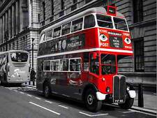 PHOTOGRAPHY COMPOSITION VINTAGE ANTIQUE ROUTEMASTER LONDON BUS POSTER MP3454B