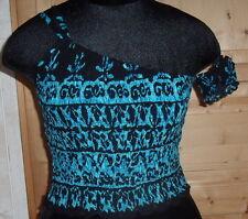 Glamexx 24 Femmes Classics Ladies Top Pads Bandeau T-shirts sous-vêtements Strass Sans