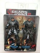 OVP NECA Gears of War 2 Serie 2 Pack Marcus Fenix Dominic Santiago Figur Set