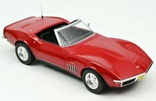 Norev Chevrolet Corvette Cabriolet 1969 Rouge 1/18 189036 16 1020