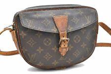 Authentic Louis Vuitton Monogram Jeune Fille Shoulder Bag LV A3896