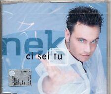 NEK CD single 3 tracce 2000 CI SEI TU + VIEDOCLIP + CREDO made in GERMANY sigill