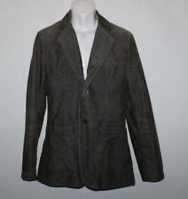 Khaki Corduroy ESPRIT Button Hip Length Tailored Fit Casual Jacket Blazer Size L