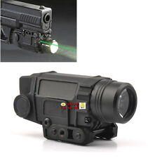 Tactical Green Laser Sight&CREE LED FlashLight 20mm Rail For Rifle Pistol Gun