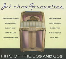 4 CD album JUKEBOX favorites Hits of the 50s and 60s (Buddy Holly, Brenda Lee)