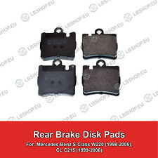 REAR Brake Pads For Mercedes-Benz W220 C215 ATE CL S-Class