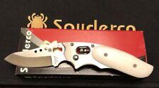 Spyderco Howard Viele Phoenix C114WMP White Micarta VG-10, Extremely Rare, NIB!!