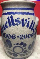 CONNELLSVILLE, PA 1806-2006 Salt-Glazed Crockery Pottery  2006 Marked Geneva?