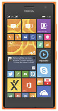 "Nokia Lumia 730 Dual SIM 8GB orange 4,7"" Windows Smartphone ohne Simlock 6,7 MPX"