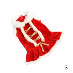Winter Clothes Pet Dog Cat T-shirt Coat Merry Christmas Xmas Puppy Apparels Gift