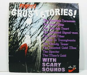Vintage Record Famous Ghost Stories! from 1975