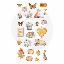 PRIMA MARKETING Autumn Sunset - Puffy Stickers*Scrapbook Embellishments