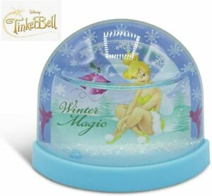Tinkerbell Christmas Lenticular Plastic Snowglobe