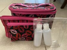 TRAVEL COSMETIC MAKE UP BAGS 4 PIECE by TARTAN + TWINE