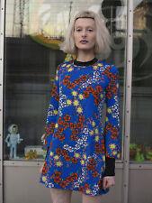 Flowerpower Darling Modell Minikleid Sommerkleid Kleid 70er True VINTAGE dress