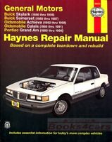 SHOP MANUAL SERVICE REPAIR BOOK HAYNES CHILTON