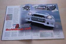 Sport Auto 4344) Toyota Corolla TTE 20V mit 165PS im Fahrbericht auf 2 Seiten